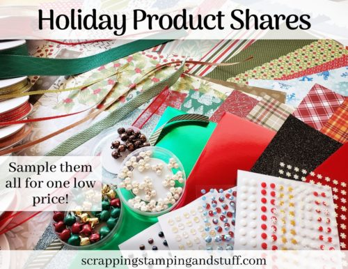 Stampin Up 2020 Holiday Catalog Product Shares