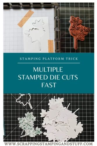 Make Multiple Stamped Die Cuts Fast With This Stamping Platform Trick - Stamparatus Tips and Tricks