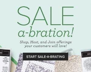 Stampin Up Sale-a-bration 2021
